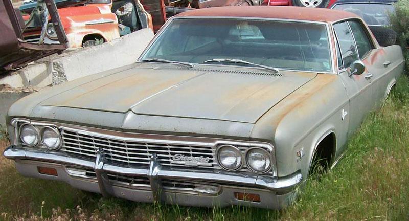 1967 Chevy Impala Craigslist >> Restorable Chevrolet Classic Cars For Sale 1966-83